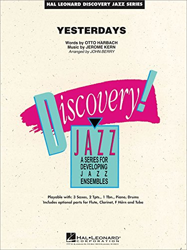 - Hal Leonard Yesterdays - Discovery Jazz Series Level 1.5