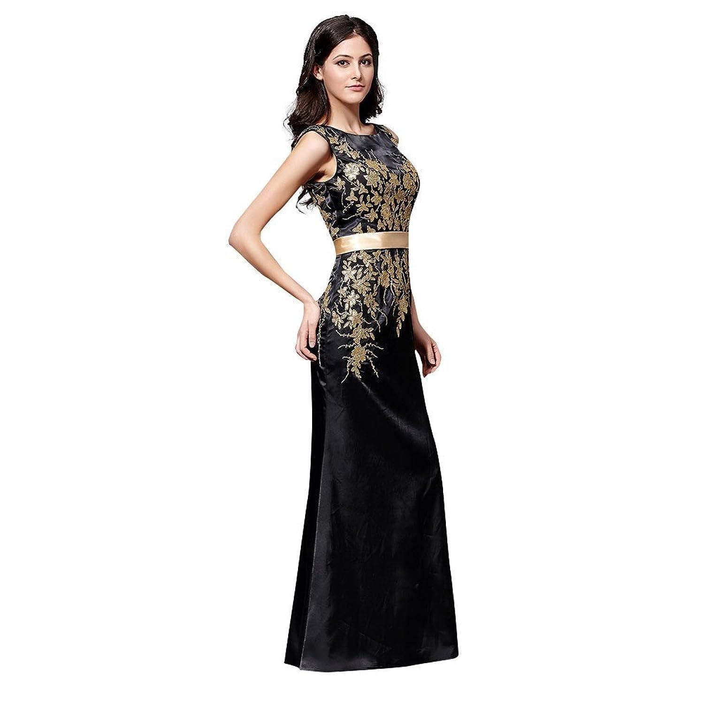 YUXING neuen Stil Kleid Trauzeugin Prom Abendkleid Cocktail langen ...