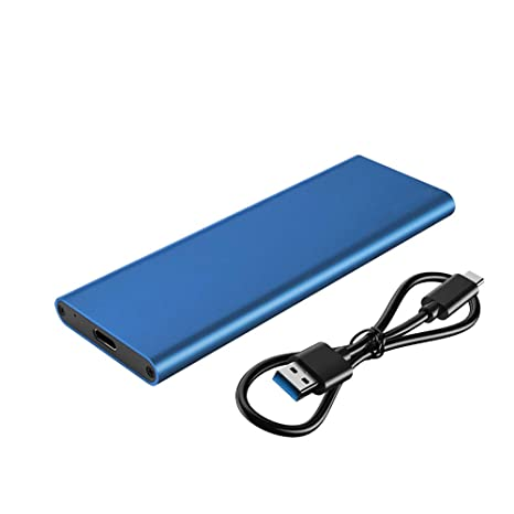 Amazon.com: M.2 NGFF SATA SSD to USB 3.1 External Enclosure ...