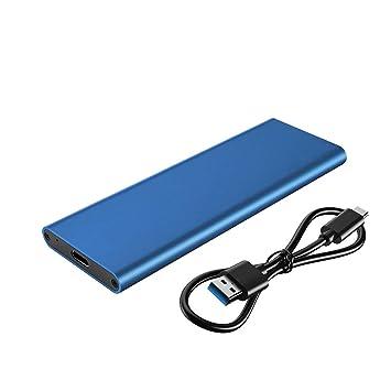 M.2 NGFF SATA SSD to USB 3.1 External Enclosure Only M.2 B-Key to Type C