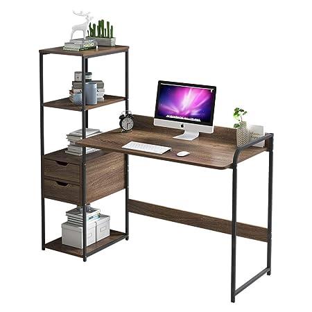 Mesas Para Ordenador Con Estantes,escritorio De Computadora Con ...