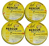 Bach Rescue Lemon Pastilles Pack of 4