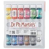 Dr. Ph. Martin's 800851-XXX Bombay India Ink Bottles, 0.5 oz, Set of 12 (Set 1)