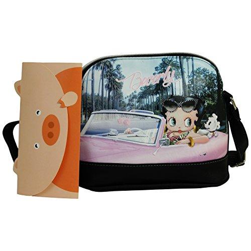 Betty Boop Beverly Borsa da Donna Ragazza Bauletto Bowling Bugatti