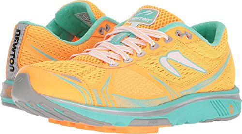 Newton Running Womens Motion 7, Orange/Silver, Size 10.0