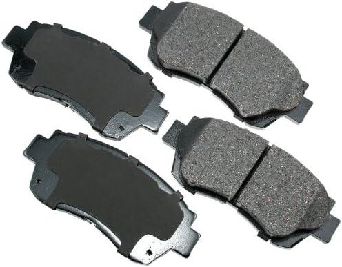 Disc Brake Pad Set-ProACT Ultra Premium Ceramic Pads Front Akebono ACT476