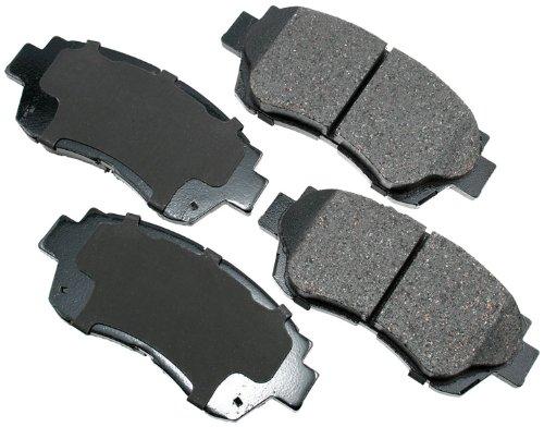 Akebono ACT476 ProACT Ultra-Premium Ceramic Brake Pad Set ()