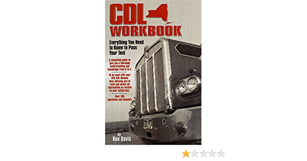 Cdl Workbook: Everything You Need to Know to Pass Your Test ...