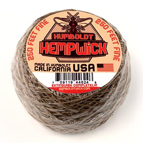 (Humboldt Hemp Wick 250ft Roll - Fine Flame)