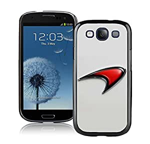 Popular And Durable Designed Case With Mclaren logo 1 Black For Samsung Galaxy S3 I9300 Phone Case