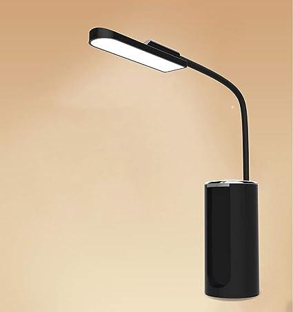 Lampara de mesa Luz de carga USB Lámpara de mesa de ...