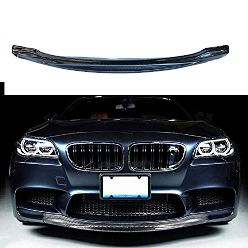 (RKP style carbon fiber front lip spoiler lids for BMW 5 series F10)