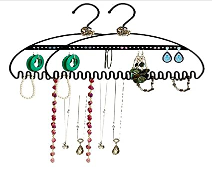 Amazoncom 2 PACK Hang It Jewelry Organizer by Just Solutions