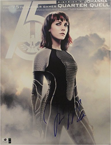 (Jena Malone Hand Signed Autographed 11x14 Photo Hunger Games GA 769646)