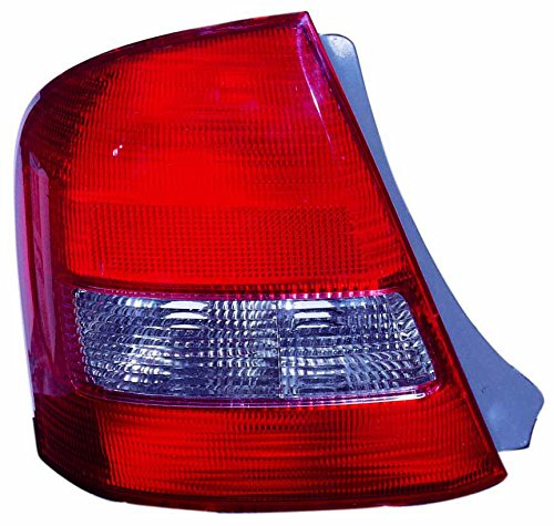 (For 1999 2000 2001 2002 2003 Mazda Protege Sedan Rear Tail Light Taillamp Passenger Right Side Replacement Capa Certified MA2819103)