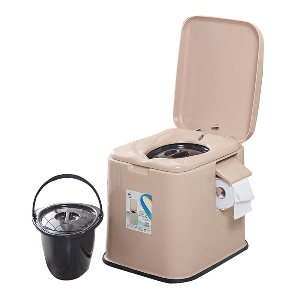 フードチェア軽量でポータブルなキャンプ用トイレは、屋内と屋外に適しています (色 : ブラウン ぶらうん) B07CXNP5PL  ブラウン ぶらうん