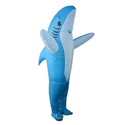 Amosfun - Disfraz Hinchable de delfín para acuarios, Playa ...
