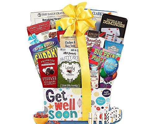 - Get Well Soon Care Package Gift Basket A Positive Thoughful Inspirational Gift Idea Great for After Surgery.
