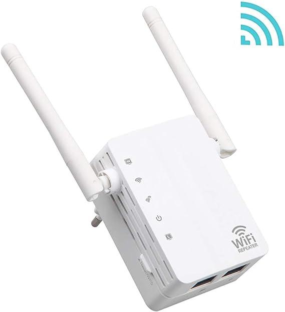 ZED- WiFi 300Mbps Repetidor WiFi Extensor Enrutador Inalámbrico ...