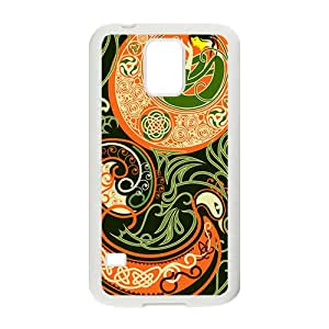 YYYT Attractive Classic Totem Pattern Custom Protective Hard Phone Cae For Samsung Galaxy S5