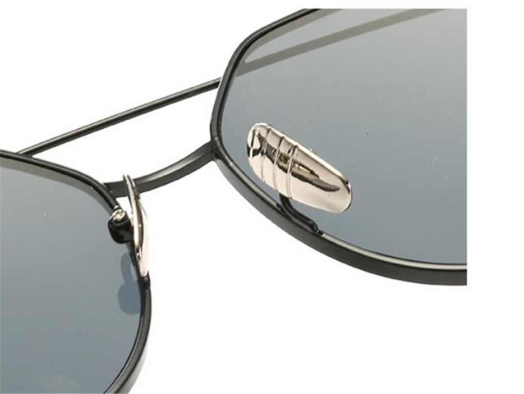WANGMIN® Lunettes De Soleil De Qualité Supérieure Hommes Polarized Brand Designer Fashion Aviator Driving Sun Glasses , E