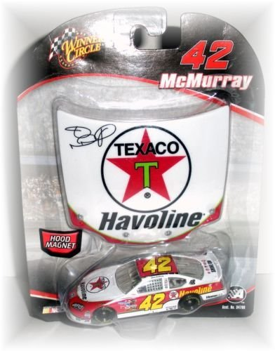 Winners Circle Jamie McMurray #42 Texaco Havoline Dodge Charger 1/64 Scale with Matching Magnet Hood