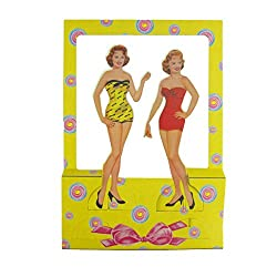 1950's Vintage 50's Style Retro Paper Dolls Set