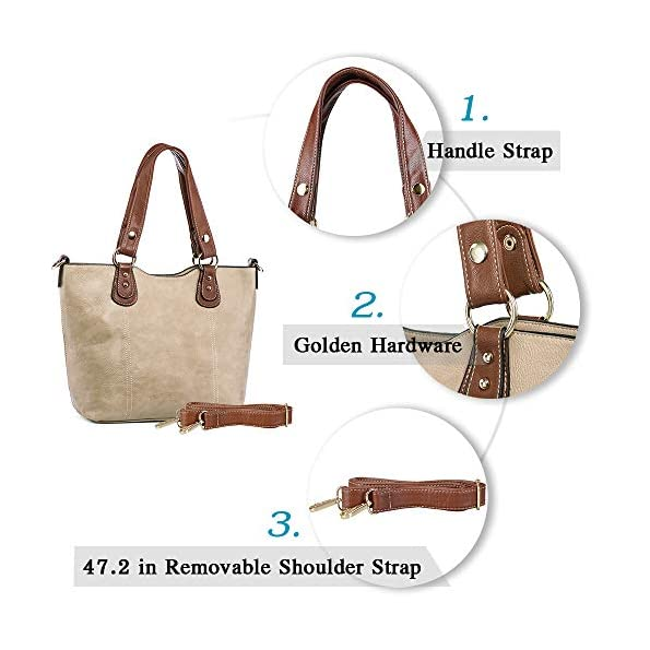 UTAKE-Handbags-for-Women-Tote-Shoulder-Bags-PU-Leather-Top-Handle-Purse-Medium-Size
