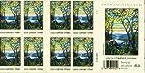 Louis Comfort Tiffany Pane of 20 x 41 U.S. Postage Stamps
