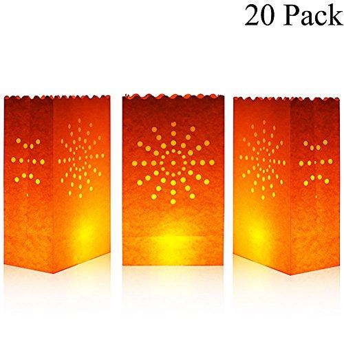 Candle Luminaries Bags - 5