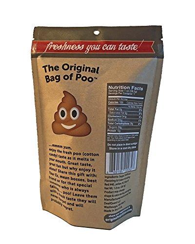 Original Bag of Poo (brown cotton candy)
