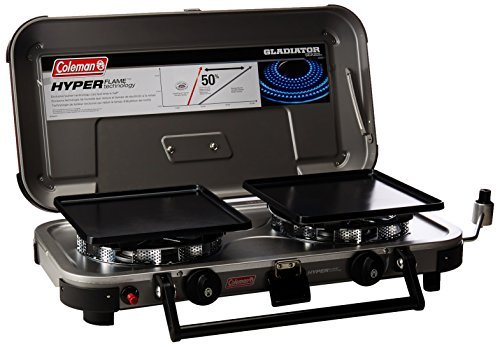 Coleman Company Signature Hyper Flame Gladiator Stove, Black by Coleman
