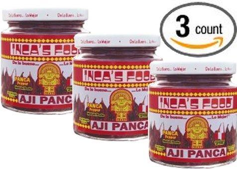 - Inca's Food Aji Panca Paste 7.5 Oz (3-pack)