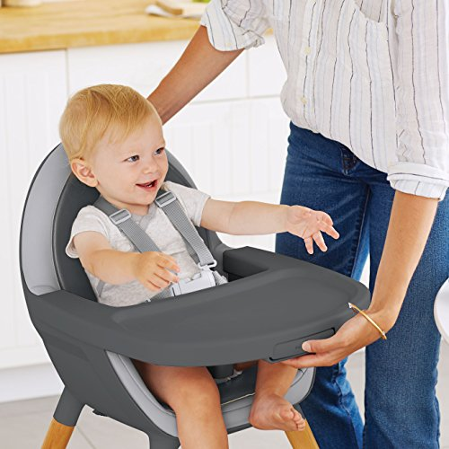 Skip Hop Tuo Convertible High Chair, Charcoal Grey by Skip Hop (Image #8)
