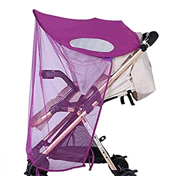 Pushchair Buggy Sun Protection Canopy Umbrella Parasol Summer Sun Shade Stroller Cover Pram