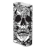Skin Decal Vinyl Wrap for eLeaf iStick 100W Vape Mod Skins Stickers Cover / Crazy lineart Skull Design