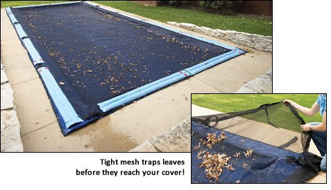 Blue Wave Arctic Armor In-Ground Leaf Net Covers 30ft x 50ft by Arctic Armor