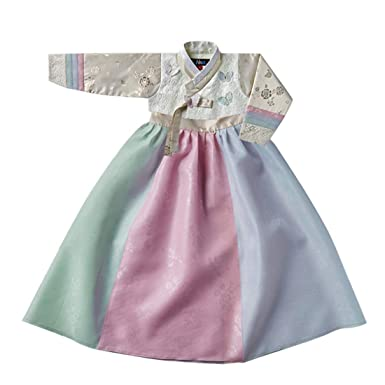 916c41e25891 Korean Beautiful Girl's Traditional Clothing Hanbok Dress Baby Girl Clothes  Birthday New Year Party Yoon-