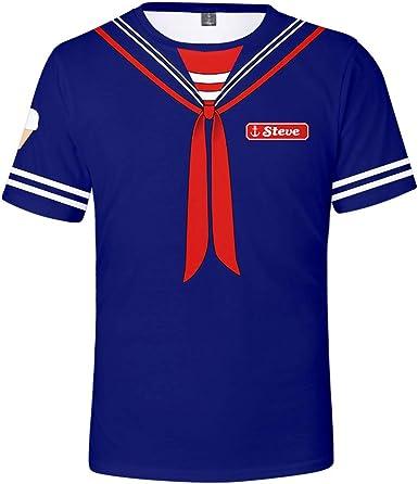 Steve Robin Scoops Ahoy Outfit Disfraz Camiseta para Hombres y ...