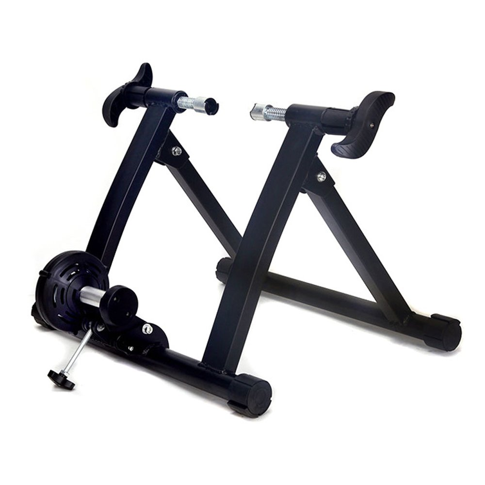 Lucky Tree Indoor Bicycle Trainer Exercise Machine Bike Trainer Stand Steel
