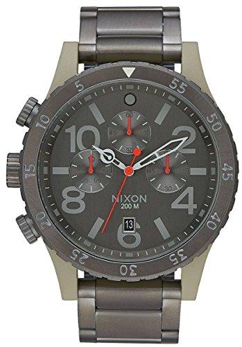 Sage/Gunmetal Grey The 48-20 Chrono Watch by Nixon