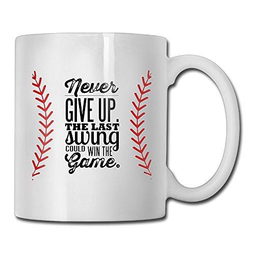 - CHYHG DU Charlotte Baseball Novelity Customized Ceramic Coffee Mug Tea Mug 11oz Gift For Dad, Grandpa,Husband From Son,Daughter,Wife