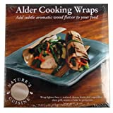 Nature's Cuisine WRP005 6-Inch x 6-Inch Alder Wraps, 12 per pack  (Wood)