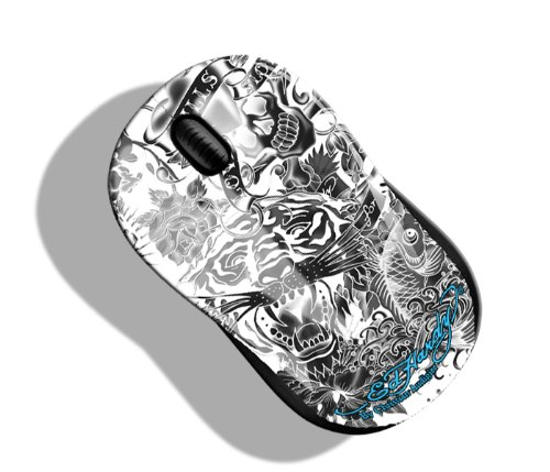 Limited Edition Optical Mouse - Ed Hardy Limited Edition Optical Mouse (White)