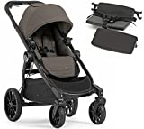 Baby Jogger City Select Lux Stroller WITH Bench Seat (Taupe)