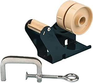 "Tach-It B3-TC 2"" Wide Multi-Roll Tape Dispenser with C-Clamp for Mounting Anywhere"
