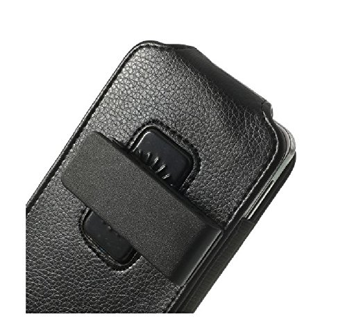 "DFV mobile - Magnetic leather holster case belt clip rotary 360º for =>      APPLE IPHONE 7 PLUS [5,5""] > Black"