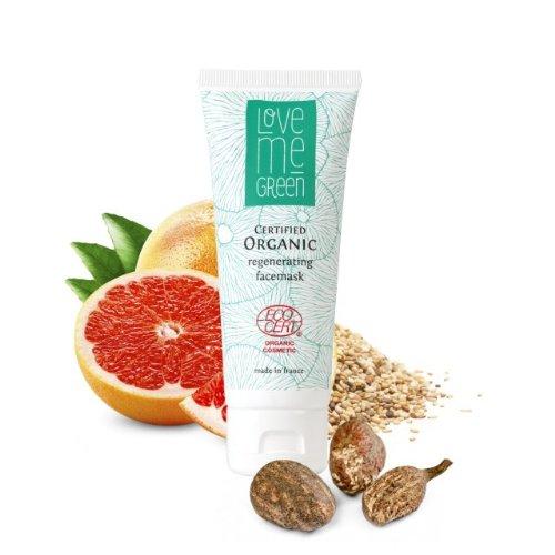 Love me Green Naturkosmetik - regenerierende Gesichtsmaske - 75ml