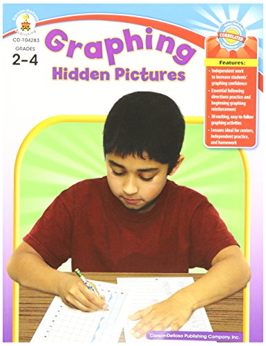 Graphing Hidden Pictures, Grades -