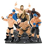 Comansi Wwe Wrestling Toy Figures Cake Toppers - All 7 Figures